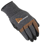 Ansell Size 8 ActivArmr® 15 Gauge And Light Weight Foam Nitrile Work Gloves With Black And Gray Nylon Liner And Knit Wrist Cuff