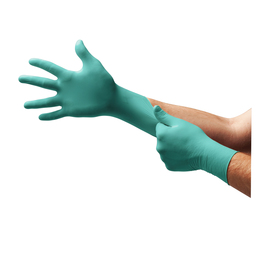 Ansell Large Green TouchNTuff® 5.5 mil Nitrile Disposable Gloves