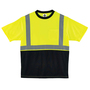 Ergodyne 2X Lime And Black GloWear® 8289BK Birdseye Knit Polyester T-Shirt