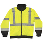 Ergodyne Medium Lime GloWear® 8379 Polyester Jacket