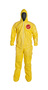 DuPont™ Large Yellow Tychem® 2000 10 mil Polyethylene Coated Tyvek® Bib Pants/Overalls