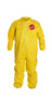DuPont™Size 4X Yellow Tychem® 2000 10 mil Polyethylene Coated Tyvek® Bib Pants/Overalls (Lead time for this product may be longer than normal.)