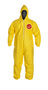DuPont™ Size 2X Yellow Tychem® 2000 10 mil Polyethylene Coated Tyvek® Bib Pants/Overalls (Availability restrictions apply.)