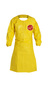 DuPont™ Large Yellow Tychem® 2000 10 mil Polyethylene Coated Tyvek® Apron