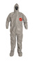 DuPont™ Size 3X Gray Tychem® 6000 Tyvek® Bib Pants/Overalls (Availability restrictions apply.)