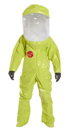 DuPont™ Size 2X Yellow Tychem® 10000 28 mil Tychem® 10000 Personal Protection Kit Suit