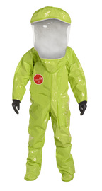 DuPont™ Large Yellow Tychem® 10000 28 mil Tychem® 10000 Personal Protection Kit Suit