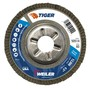 Weiler® TIGer® 4 1/2 X 7/8 60 Grit Type 29 Flap Disc