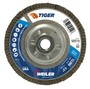 Weiler® TIGer® 4 1/2 X 5/8 - 11 60 Grit Type 29 Flap Disc