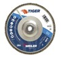 Weiler® TIGer® 7 X 5/8 - 11 60 Grit Type 29 Flap Disc