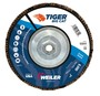 Weiler® TIGer® Big Cat 7 X 5/8 - 11 60 Grit Type 27 Flap Disc