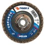 Weiler® TIGer® X 4 1/2 X 5/8 - 11 60 Grit Type 29 Flap Disc