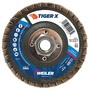 Weiler® TIGer® X 4 1/2 X 5/8 - 11 60 Grit Type 27 Flap Disc