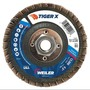 Weiler® TIGer® X 4 1/2 X 5/8 - 11 80 Grit Type 27 Flap Disc
