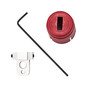 Brady® Red Reinforced Aluminum/Fiberglass/Nylon SMC Lockout Device