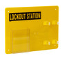 Brady® Black/Yellow Acrylic Prinzing® Lockout Station