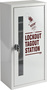 Brady® Black/Yellow Steel Prinzing® Lockout Station
