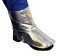 Stanco Safety Products™ One Size Fits Most Silver Aluminized Carbon KEVLAR® Heat Resistant Spats With Velcro Hook And Loop Closure