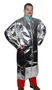 Stanco Safety Products™ Medium Silver Aluminized PFR Rayon Heat Resistant Coat