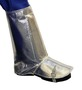 Stanco Safety Products™ One Size Fits Most Silver Aluminized PFR Rayon Heat Resistant Spats