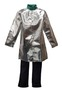 Stanco Safety Products™ 2X Silver Aluminized PFR Rayon Heat Resistant Coat