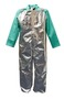 Stanco Safety Products™ 2X Silver Aluminized PFR Rayon Heat Resistant Bib Overalls