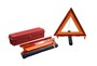 Cortina Safety Products Orange Acrylic/ABS/Polypropelene Warning Triangle
