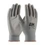 Protective Industrial Products X-Small G-Tek® Touch 13 Gauge/Standard Polyurethane Work Gloves With Polyester Liner And Continuous Knit Wrist