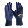 Protective Industrial Products Large MaxiFlex® Elite by ATG® Ultra Light Weight Nitrile Work Gloves With Nylon Knit Liner And Continuous Knit Wrist