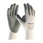 Protective Industrial Products Small MaxiFoam® By ATG® 15 Gauge Nitrile Work Gloves With Nylon Liner And Continuous Knit Wrist