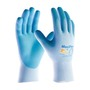 Protective Industrial Products® Small MaxiFlex® Active By ATG® Light Blue Nitrile Palm And Finger Coated Work Gloves With Nylon And Lycra® Liner And Continuous Knit Wrist