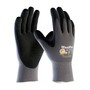 PIP® X-Large MaxiFlex® Endurance by ATG® Black Nitrile Palm And Finger Coated Work Gloves With Nylon And Lycra® Liner And Continuous Knit Wrist