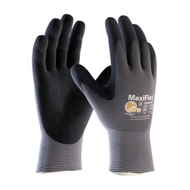 Protective Industrial Products X-Large MaxiFlex® Ultimate by ATG® 15 Gauge Nitrile Work Gloves With Nylon Liner And Continuous Knit Wrist | Tuggl