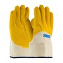 Protective Industrial Products Large ® 10 Gauge Latex Work Gloves With Cotton Liner And Safety Cuff