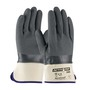 Protective Industrial Products Small ActivGrip™ 15 Gauge Nitrile Work Gloves With Cotton Liner And Safety Cuff
