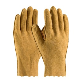 Protective Industrial Products Medium ® Vinyl Work Gloves With Cotton Liner And Pinked Cuff