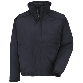 Red Kap® Midnight The North Face And Horace Small Nylon With Primaloft Insulation Insulated 3-N-1 Jacket Jacket With Concealed Snap-Front Storm Flap