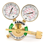 Radnor Model SR350D-540 Radnor Classic Style Heavy Duty Oxygen Single Stage Regulator CGA-540