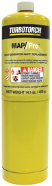 Victor® MPT-1 MAP-Pro™ 14.1 Ounce Propane Replacement Cylinder CGA600