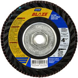 LOT of 5 ~ NORTON BLAZE FLAP DIC  T29 7/'/'X 5//8-11 114623697 GRIT 40CRB