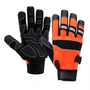 West Chester X-Large Orange Pro Series® Synthetic Leather Full Finger Mechanics Gloves With Hook And Loop Cuff