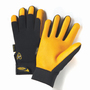 West Chester X-Large Black Pro Series® Deerskin Full Finger Mechanics Gloves With Hook And Loop Cuff