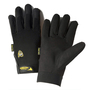 West Chester Medium Black Pro Series® Synthetic Leather Full Finger Mechanics Gloves With Hook And Loop Cuff