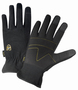 West Chester X-Large Black Pro Series® Synthetic Leather Full Finger Mechanics Gloves With Elastic Cuff