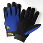 West Chester Medium Black Pro Series® Cowhide Full Finger Mechanics Gloves With Hook And Loop Cuff