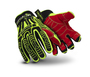 HexArmor Size 9 Rig Lizard 2021 TP-X Cut Resistant Gloves With IR-X Impact Exoskeleton Coated Back-Of-Hand