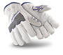 HexArmor Size 8 SteelLeather 5033 Heavy Duty SuperFabric Palm Cut Resistant Gloves