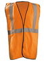 OccuNomix 2X - 3X Hi-Viz Orange Polyester Vest