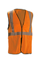 OccuNomix Small - Medium Hi-Viz Orange 100% ANSI Polyester/Mesh Break-Away Vest
