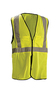 OccuNomix Small - Medium Hi-Viz Yellow 100% ANSI Polyester/Mesh Break-Away Vest